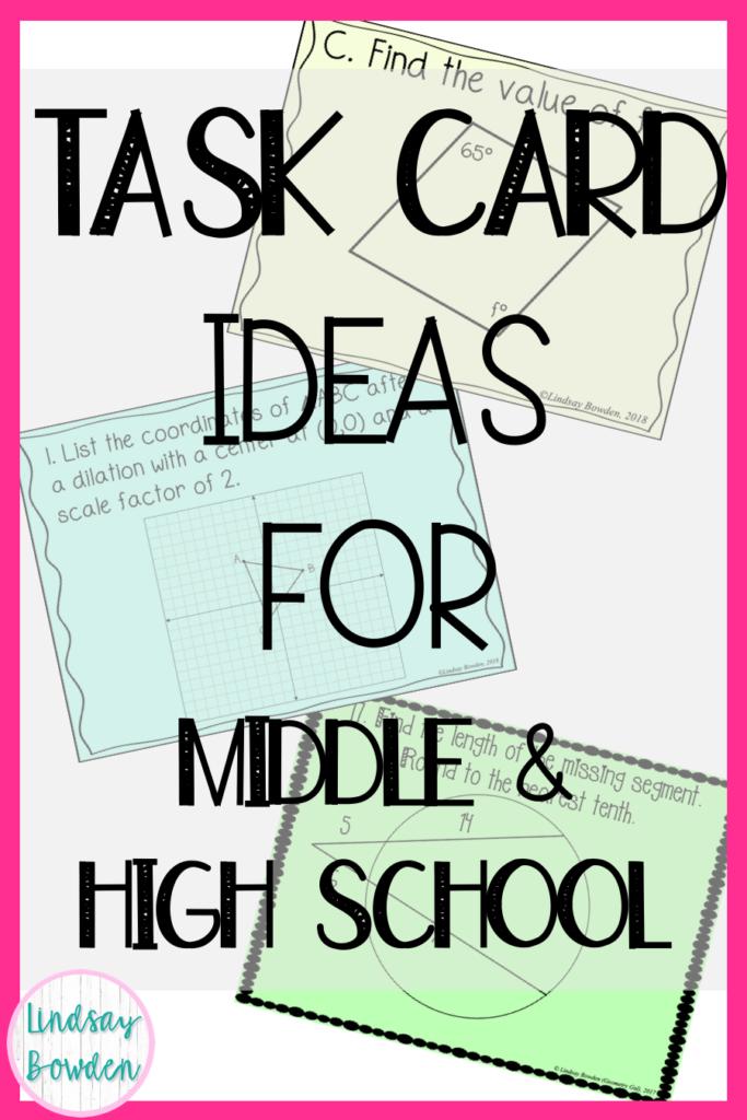 task-card-ideas