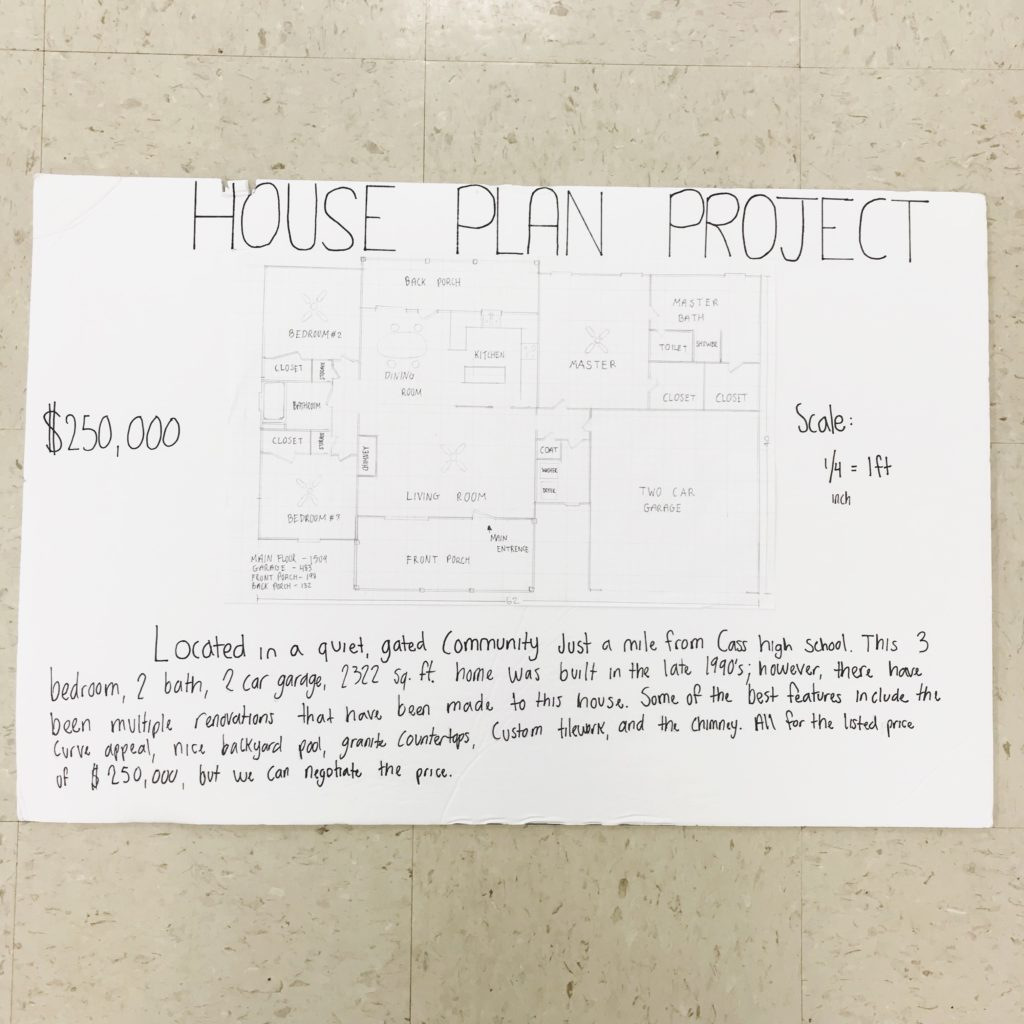 Real world research project ideas for high school geometry