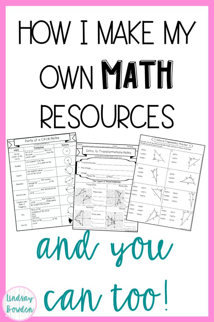 make-math-worksheets