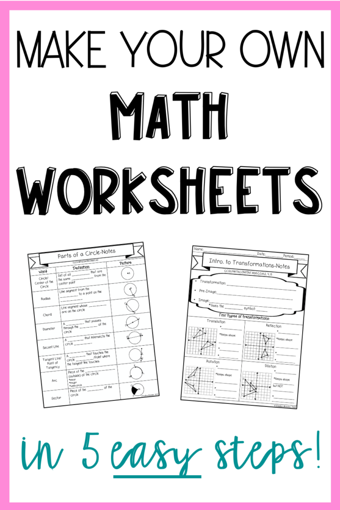 make-your-own-math-worksheets