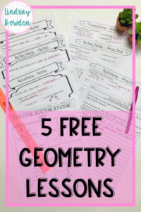 free-geometry-lessons