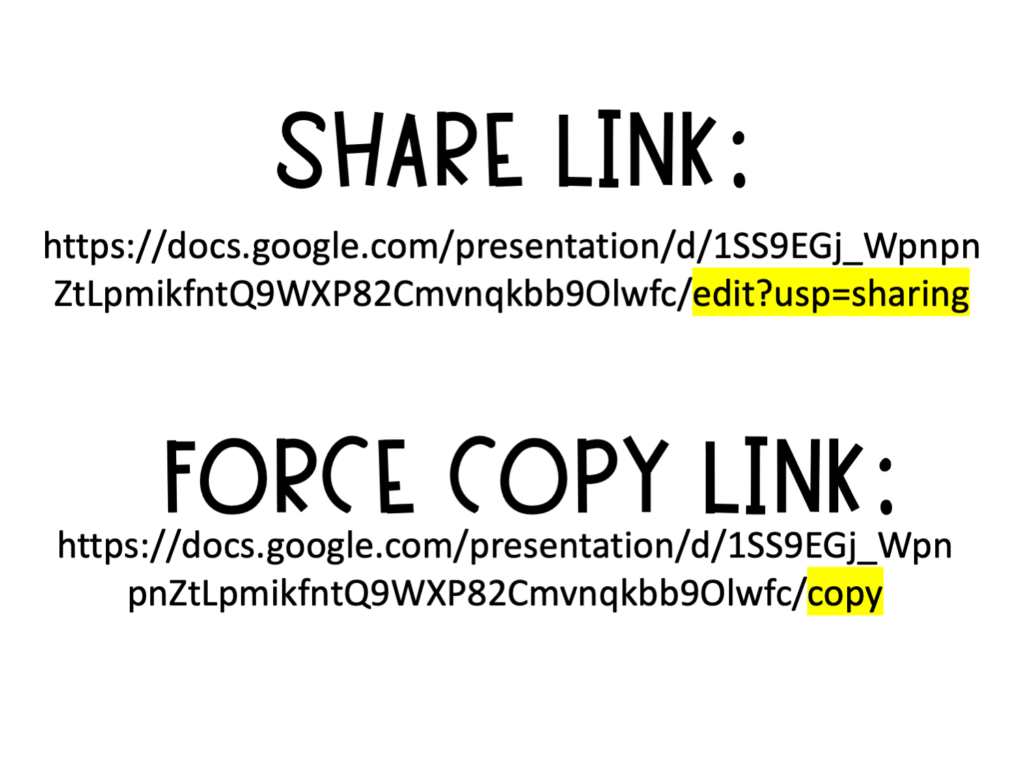 force-copy-link