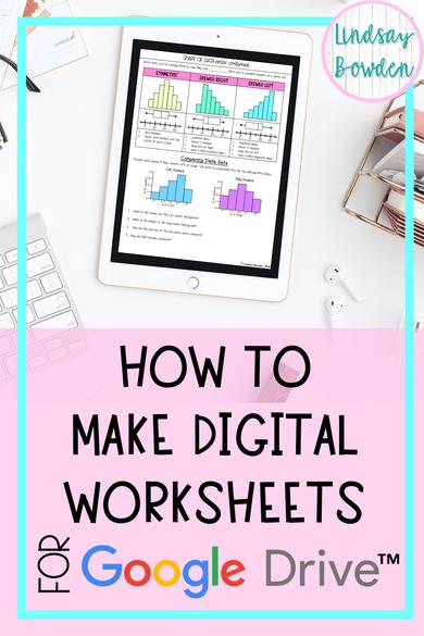 make-digital-worksheets