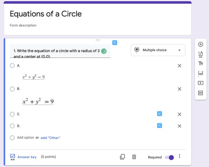 math-equation-google-docs