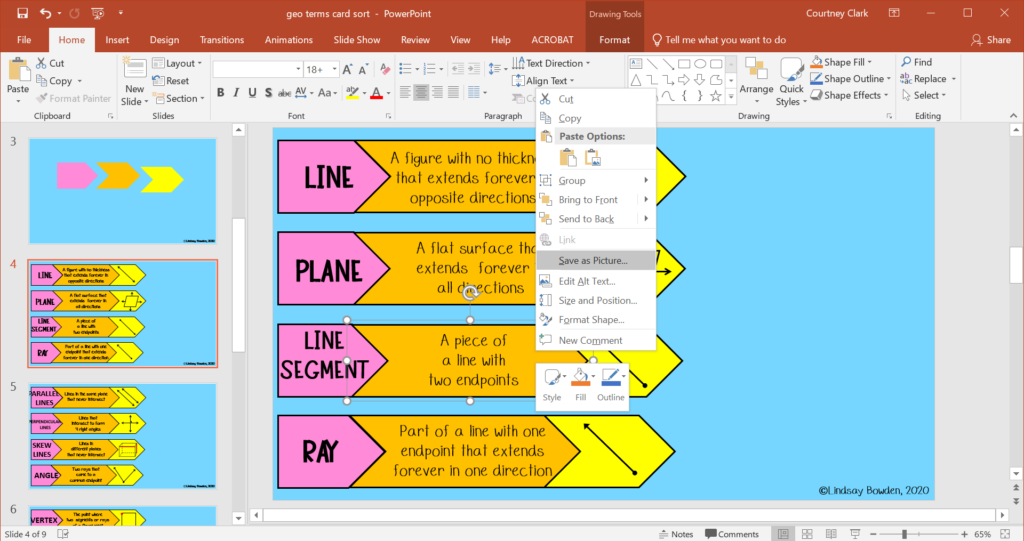 Save object on PowerPoint as an image