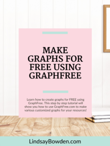 Learn how to make graphs for free using GraphFree.com