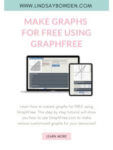 Make graphs for free using the website GraphFree.com